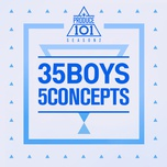 produce 101 season 2 - 35 boys 5 concepts (mini album) - v.a
