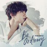 be ordinary (mini album) - hwang chi yeol