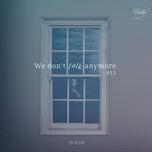 we don't talk anymore cover (single) - jung kook (bts), jimin (bts)
