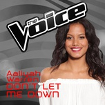 don't let me down (the voice australia 2016 performance) (single) - aaliyah warren
