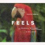 feels (single) - calvin harris, pharrell williams, katy perry, big sean