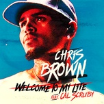 welcome to my life (single) - chris brown, cal scruby