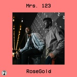 mrs. 123 (single) - rosegold
