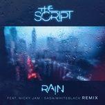 rain (saga whiteblack remix) (single) - the script, nicky jam