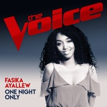 one night only (the voice australia 2017 performance) (single) - fasika ayallew