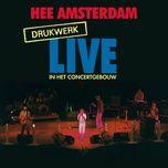 hee amsterdam - drukwerk live in het concertgebouw - drukwerk