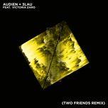 hot water (two friends remix) (single) - audien, 3lau, victoria zaro