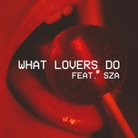 what lovers do (single) - maroon 5, sza
