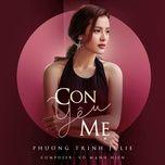 con yeu me (single) - phuong trinh jolie