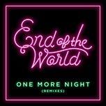 one more night (remixes ep) - sekai no owari