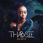 run back (single) - thabsie