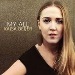my all (single) - kajsa beijer