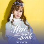 hai nhan vat chinh (single) - anie nhu thuy