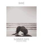 summer days (roosevelt remix) (single) - rhye