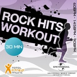 rock hits workout 60 - 145 - 90bpm ideal for cardio machines, circuit training, jogging, gym cycle & general fitness - v.a