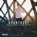 heartbeat (extended) (single) - lekko, b-dis, fran martin