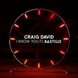 i know you (single) - craig david, bastille