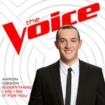 (everything i do) i do it for you (the voice performance) (single) - aaron gibson