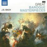 brandenburg concertos 2 (great baroque masterpieces) - bach