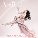 a or b (single) - mika nakashima