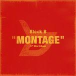 montage (mini album) - block b