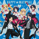 happy material / steady go!! (single) - yuka takakura, yuuki hirose, ai kayano, yui ogura, sayaka harada, akari kito