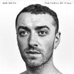burning (single) - sam smith