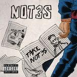 notice (single) - not3s