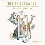 blues fourth (single) - didier lockwood, all star quartet