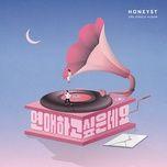 someone to love (single) - honeyst