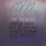 80/81 (set) - pat metheny