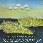 ruta and daitya - keith jarrett, jack dejohnette