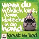 wenn du frohlich bist, dann klatsche in die hand (beat im lied) (single) - hippo-pop, nilpferd