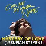mystery of love (single) - sufjan stevens
