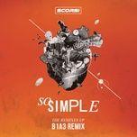 so simple (b1a3 remix) (single) - scorsi