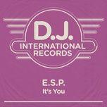 it's you (single) - e.s.p.