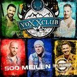 500 meilen (single) - voxxclub