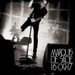 rue de siam (live au liberte, rennes / 2017) (single) - marquis de sade