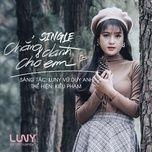 chang danh cho em (single) - kieu pham