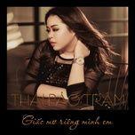 giac mo rieng minh em (single) - thai bao tram