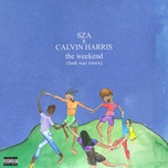 the weekend (funk wav remix) (single) - sza, calvin harris