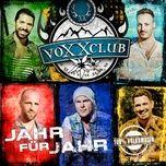 jahr fur jahr (single) - voxxclub