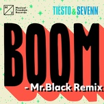 boom (mr. black remix) (single) - tiesto, sevenn