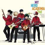 boku no hero academia 2nd ost (cd2) - yuki hayashi