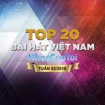 bxh bai hat viet nam tuan 02/2018 - v.a