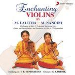 enchanting violins - m. lalitha, m. nandini