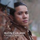 buon cua anh cover (single) - kasim hoang vu