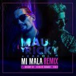 mi mala (remix) (single) - mau y ricky, karol g, becky g, leslie grace, lali