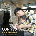 con yeu cua ba (single) - dan truong