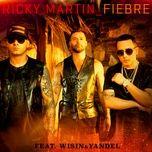 fiebre (single) - ricky martin, wisin & yandel